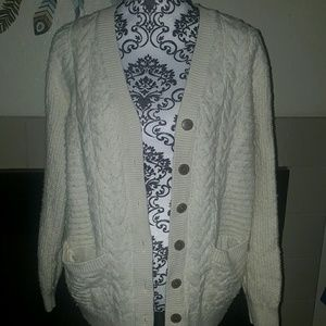 🐞Womans cotton and wool cardigan size XL🌹